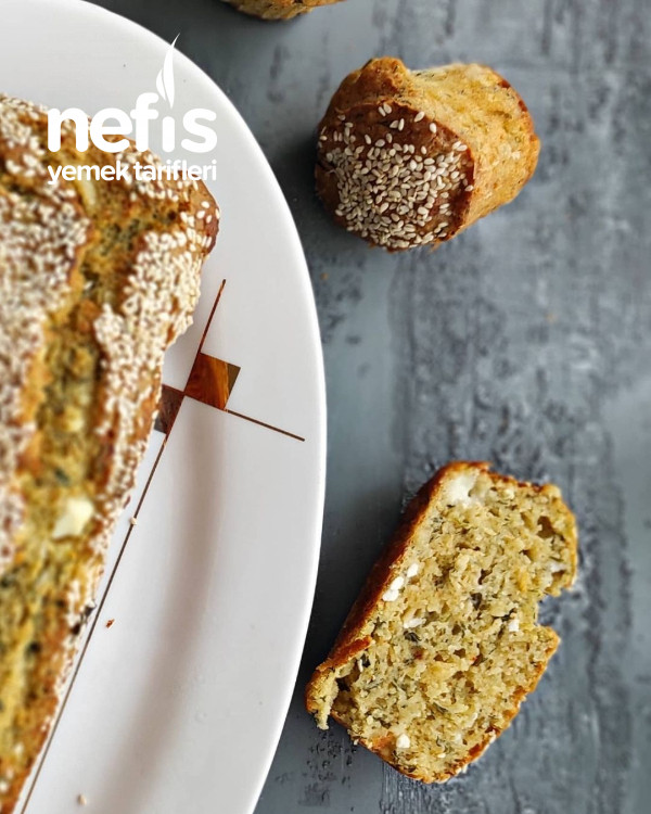 Dereotlu,peynirli Tuzlu Kek