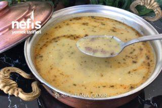 Kıyma Soslu Patates Çorbası (Videolu) Tarifi