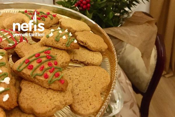 Zencefilli Yılbaşı Kurabiyesi (Gingerbread)