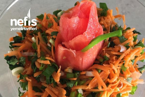 Antioksidan Takviyesi Havuç Salata