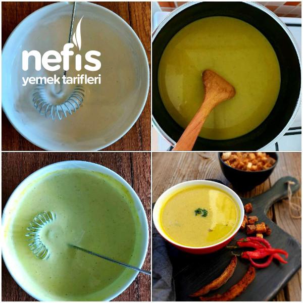 Brokoli Çorbası (Yoğurtlu)