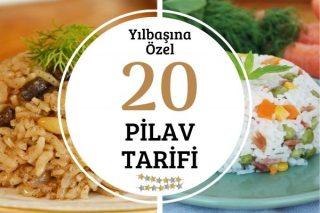 Yılbaşına Özel 20 Pilav Tarifi