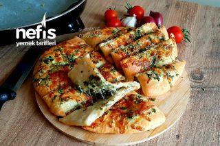 Dominos Tarzı Sarımsaklı Ekmek (Sipariş Vermeyin Evde Kolayca Yapın) (Videolu) Tarifi