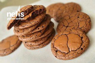 Muhteşem Dokulu Çikolatalı Kurabiye Tarifi