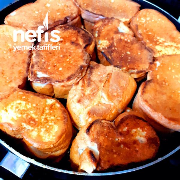 Yumurtalı Kaşarlı Ekmek (Tam Hafta Sonu Kahvaltısı İçin)