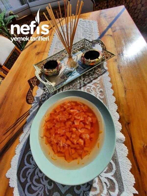 Portakal Aromalı Ayva Reçeli