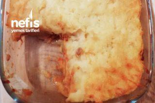 Fırında Kıymalı Patates Püresi Tarifi