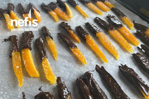 Portakal Kabuğu Şekerlemesi (Videolu)