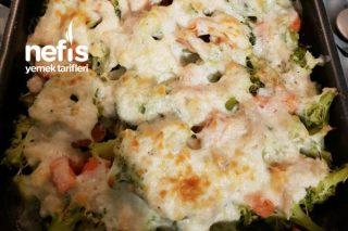 Sağlıklı Brokoli Graten Tarifi