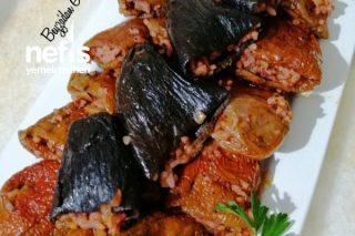 Zeytinyağlı Kuru Biber Patlıcan Dolması Tarifi