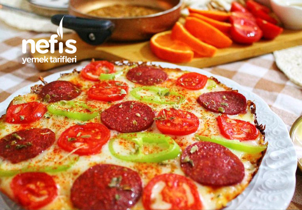Bayat Ekmek Pizzası (Muhteşem Lezzet)