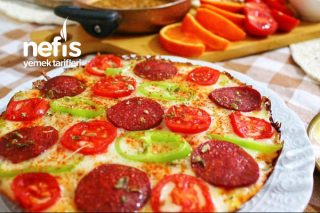 Bayat Ekmek Pizzası (Muhteşem Lezzet) Tarifi