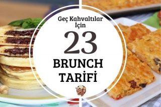 Brunch Tarifleri: Geç Kahvaltılar İçin 23 Enfes Fikir Tarifi