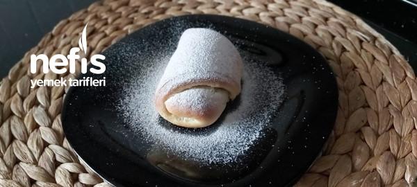 Çikolata Dolgulu Pamuk Poğaça/ Poğaça Tarifi ( Videolu )