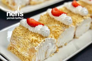 Fındıklı Ve Muzlu Mini Rulo Pastalar Tarifi