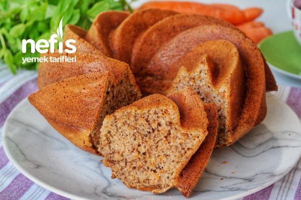 Havuçlu Cevizli Tarçınlı Kek Tarifi (videolu)