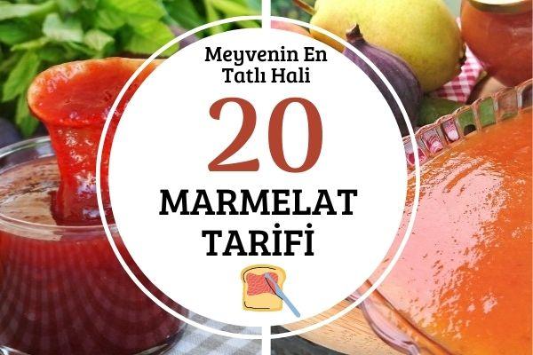 Marmelat Yapımı: Kahvaltı ve Tatlılar İçin 20 Tarif Tarifi