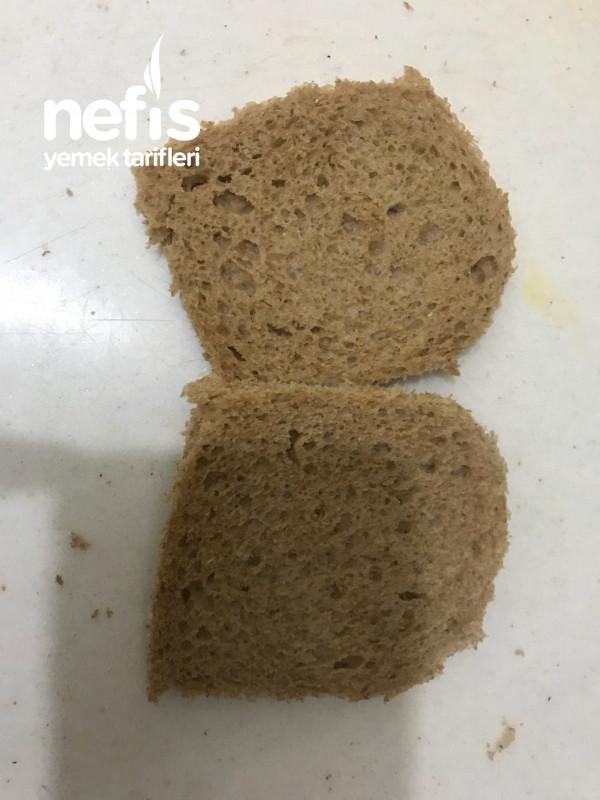 Lezzetli Fit Rulo Yumurtalı Ekmek