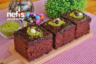 Mükemmel Bir Islak Kek - Brownie Tadında (videolu) Tarifi