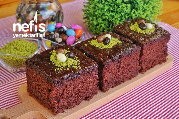 Brownie (Islak Kek) Tarifi (videolu)
