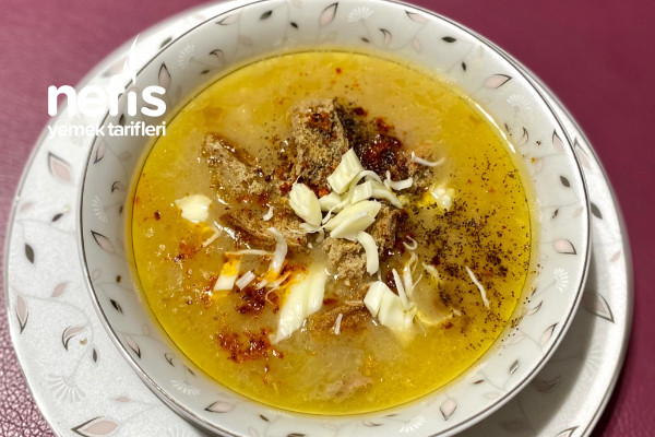 Soğan Çorbası (Bağışıklık Çorbası) Tarifi