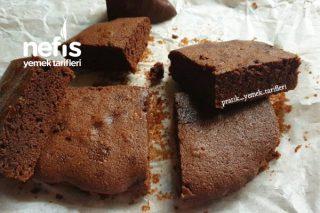 3 Malzemeli Çikolatalı Browni (Videolu) Tarifi