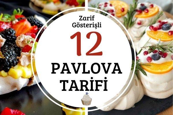 Dışı Çıtır İçi Yumuşacık 12 Pavlova Tarifi
