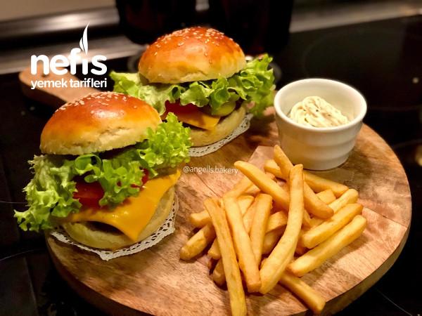 Ev Yapımı Şahane Hamburger Tarifi