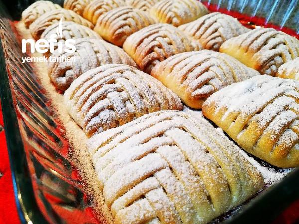 Görenlerin Hayran Kaldığı Elmalı Kafes Çöreği
