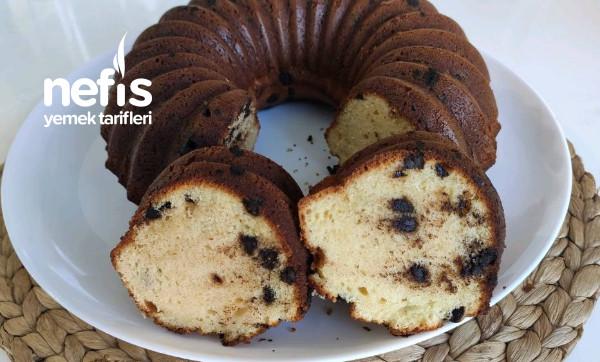 Kabarma garantili tam ölçülü Damla Çikolatalı Kek (Videolu)