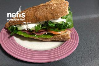 Soğuk Sandviç (Ranch Soslu) Tarifi