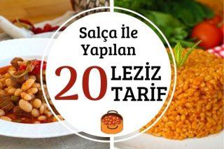 Salçalı En Lezzetli 20 Değişik Tarif Tarifi