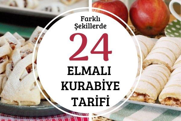 Elmalı Kurabiye Şekilleri: Şaşırtacak 24 Tarif Tarifi