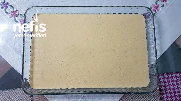 Enfes Aroma Ve Kokusuyla Muhallebili Portakallı Kek