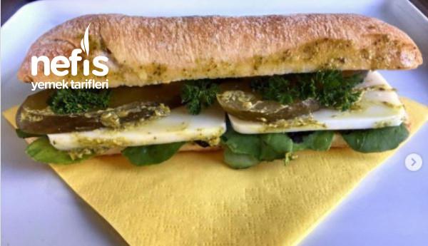 İnanılmaz Lezzetli Herkesin Seveceği Vejeteryan Sandviç