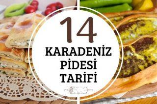 Karadeniz Pidesi Çeşitleri: Lezzet Garantili 14 Çıtır Tarif Tarifi