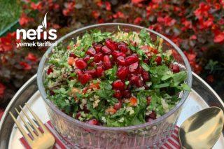 Kışın En Lezzetli Salatası:Tabuleh Tarifi