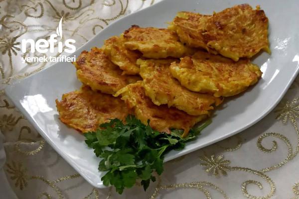 Patates Mücveri Hafta Sonuna Yakışan Tarif! Tarifi
