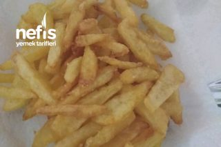 Çıtır Patates Burger King Tarzı (Dodurulup Yapılıyor) Tarifi