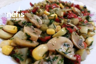 Karışık Mantar Salatası Tarifi