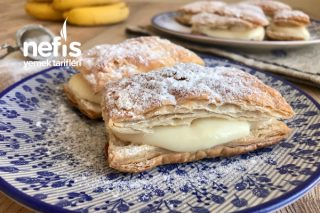 Milföyden Muzlu Pasta (Pastaların En Kolayı) Tarifi