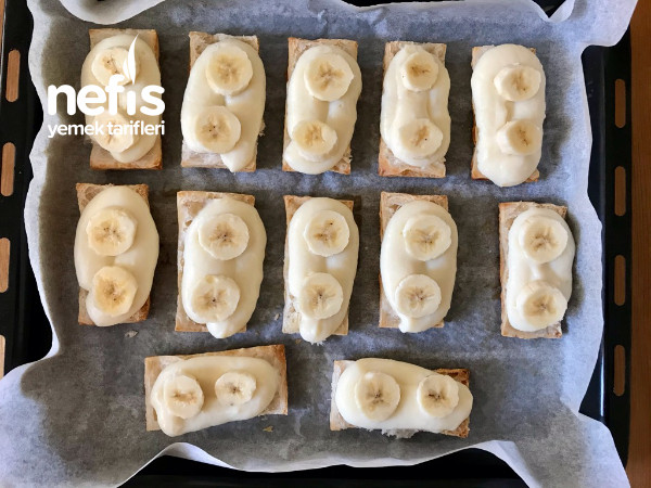 Milföyden Muzlu Pasta (Pastaların En Kolayı)