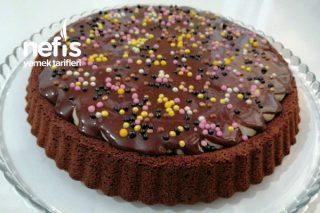 Muzlu Çikolatalı Tart Kek (Videolu) Tarifi