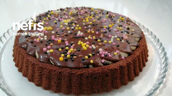 Muzlu Çikolatalı Tart Kek