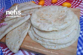 Oklava Merdane Kullanmadan Tortilla Krep Ekmekler (Videolu) Tarifi