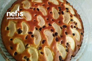 Soslu Elmalı Nefis Pasta (Basit Ve Lezzetli) Tarifi