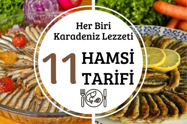 Hamsili Tarifler: En Leziz 11 Öneri Tarifi