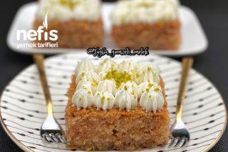 Şerbetli Tatlıların Şahı Mükemmel Kadayıflı Revani Tatlısı Tarifi
