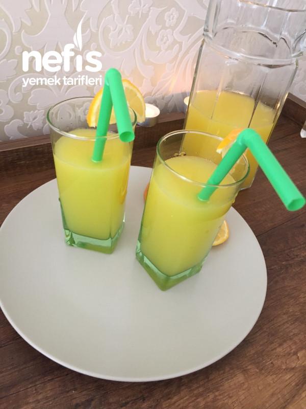 """3 Portakal +1 Limon=limonata """"kış Limonatası"""""""