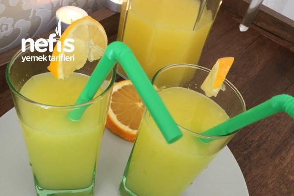 3 Portakal +1 Limondan Limonata  (Kış Limonatası)
